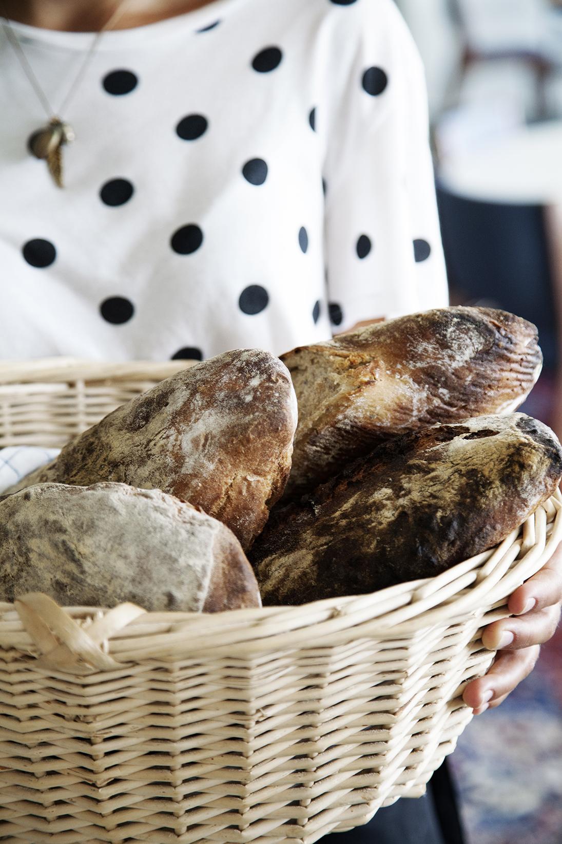 Hjemmebagt ølandsbrød